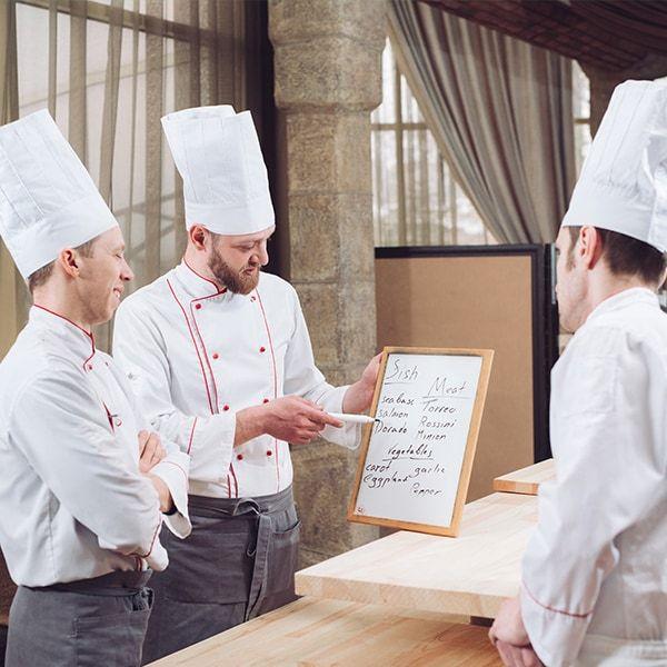 La costruzione del menu